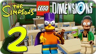 getlinkyoutube.com-Lego Dimensions The Simpsons World Part 2 ★ Bart Simpson | Let´s Play Lego Dimensions DEUTSCH