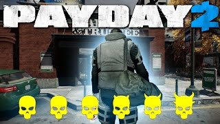 getlinkyoutube.com-One Down Solo LOUD - Bank Heist Gold - Payday 2 (One Down SOLO)