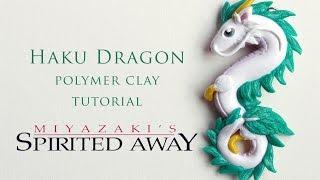 DIY Spirited Away Haku Dragon Polymer Clay Tutorial