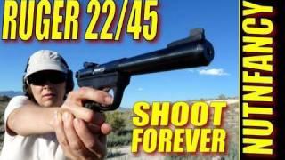"""getlinkyoutube.com-""""The Ruger 22/45:  Shoot Forever"""" by Nutnfancy"""
