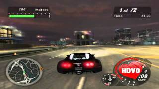 getlinkyoutube.com-Bugatti Veyron Vs Porche Carrera GT | NFS U2 | HDVideoGame
