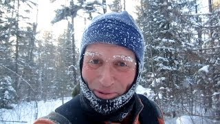 getlinkyoutube.com-Ely, Minnesota Hammock Backpack Trip....Minus 40ºF