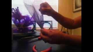 getlinkyoutube.com-Easy Mardi Gras Centerpiece!