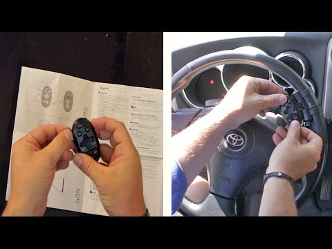 How to Install Steering Wheel Car Remote Control