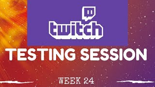 Brazil Testing and Malmo Top 4 lists - Testing sessions week 24