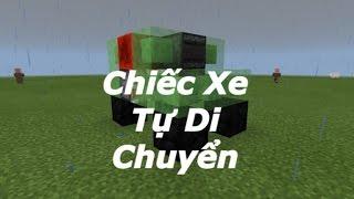 getlinkyoutube.com-Minecraft PE Tutorial || Cách Làm Chiếc Xe Tự Di Chuyển Trong Minecraft PE
