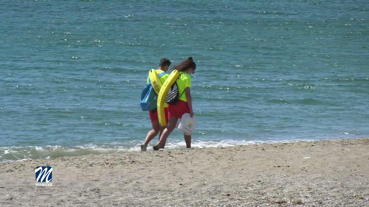 El servicio de socorrismo, garantizará la seguridad en nuestras playas