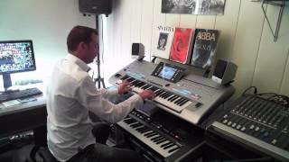 getlinkyoutube.com-ABBA I Do, I Do, I Do, I Do, I Do Performed On Yamaha Tyros 4 And Roland G70 By Rico