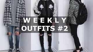 getlinkyoutube.com-Weekly Outfits #2 | Fear of God, VANS, Y3, ASOS, ACNE STUDIOS | Gallucks
