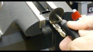 getlinkyoutube.com-Making A Glove Box Key Knob For Honda Goldwing GL1800