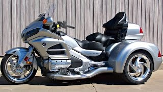 getlinkyoutube.com-SOLD! New 2015 Honda Gold Wing GL1800HPM with CSC Viper Trike