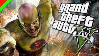 getlinkyoutube.com-Grand Theft Auto V - Reverse Flash วายร้ายเหนือแสง (GTA V Mod,ตลก,ฮา)
