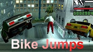 getlinkyoutube.com-GTA San Andreas - Jumps with cheat JHJOECW and BUBBLECARS