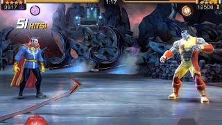 getlinkyoutube.com-Dr. Strange vs. Colossus Alliance Quest Boss Battle | Marvel Contest of Champions