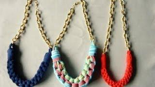 getlinkyoutube.com-DIY collar con tela