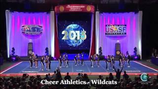 getlinkyoutube.com-Cheer Athletics Wildcats Final Worlds 2015