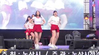 getlinkyoutube.com-[15.04.04] 여자친구 유리구슬(Glass Bead) 직캠(논산딸기축제) by 헤임달