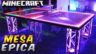 Minecraft: La Mesa de Ping Pong más Épica existente - Rabahrex