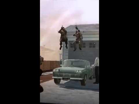 Black ops Simon sIds jump on car shooting lol come play ton