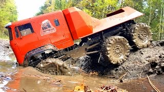 getlinkyoutube.com-RC Extreme Pictures — RC Cars OFF Road 6x6 Adventure — Mudding 6x6 RC Trucks The Beast RC4WD