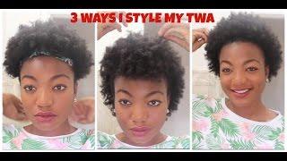 getlinkyoutube.com-3 Ways I Style My Stretched TWA