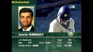 getlinkyoutube.com-RESPECT to Ganguly,proof he is braver than Sachin,true hero- Sachin too scared to face Brett Lee