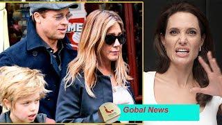 Angelina Jolie still seething during Brad Pitt has a second wedding with Jennifer Aniston width=