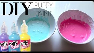 getlinkyoutube.com-How to make puffy/3D paint! ♥