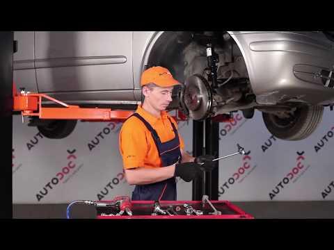 Как да сменим предна стойка на стабилизатор на MERCEDES-BENZ VIANO W639 (ИНСТРУКЦИЯ)