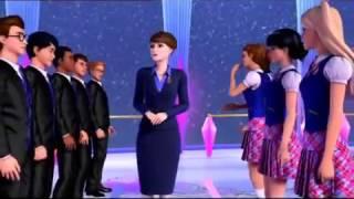 getlinkyoutube.com-Barbie princess charm school break dancing