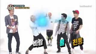 getlinkyoutube.com-[ENGSUB] 130814 EXO Weekly Idol CUT! ChanHunSuChen Power!!