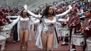 getlinkyoutube.com-Alabama A&M University - Marching In @ the 2015 Magic City Classic