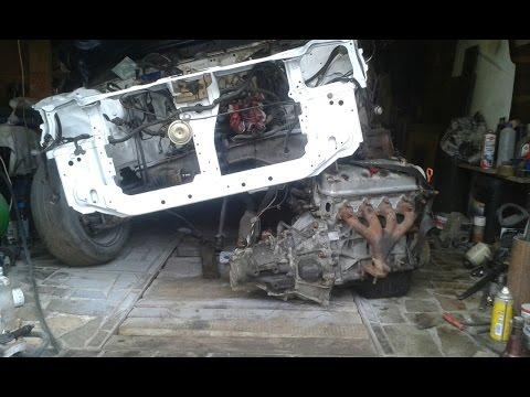 Ремонт морды после аварии Honda Civic #2