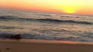 Soarele s-a scufundat în Atlantic, eu nu