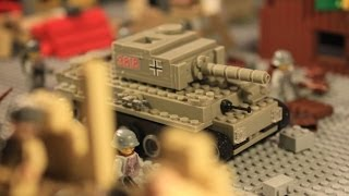 getlinkyoutube.com-Lego WW2 Stalingrad battle 2nd part / Лего ВОВ мультфильм Сталинград (2 серия)