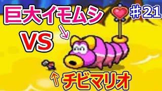 getlinkyoutube.com-マリオ&ルイージRPG3♯21 賢者からスターワクチンを奪え!巨大イモムシVSチビマリオ!!