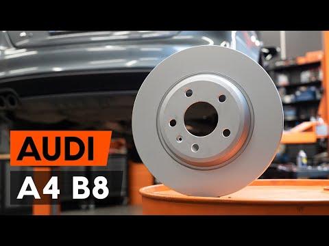 Как заменить задние тормозные диски наAUDI A4 B8 Седан(ВИДЕОУРОК AUTODOC)