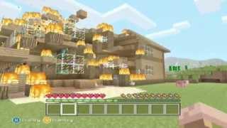 getlinkyoutube.com-Minecraft Xbox 360 - Herobrine Hunt Episode 1 - Strange Things