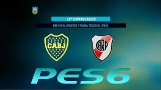 getlinkyoutube.com-PES6.Fútbol en vivo. Boca - River. Fecha 11 del Torneo de Primera División. FPT.