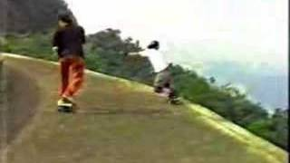 getlinkyoutube.com-Steve Lima - Skate na Serra Velha, SBC - 1990.