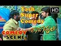 Kannada Comedy Scene - Yash Super Annthamma Comedy | Raja Huli Movie