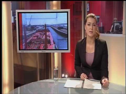 30055 AT5 Nieuws/De Zwoele Stad - Amsterdam 2010 - lokale omroep AT5