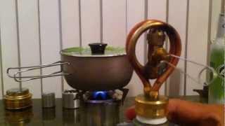 getlinkyoutube.com-Copper Coil Alcohol Stove.