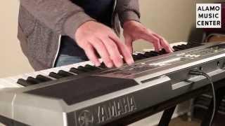 getlinkyoutube.com-Yamaha PSR E353 Demo and Product Review