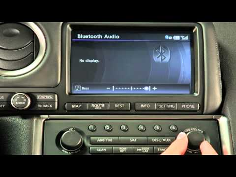 2012 NISSAN GT-R - Audio System