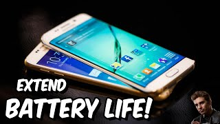 getlinkyoutube.com-How to increase battery life on Galaxy S6 Edge and Every Cell phone!