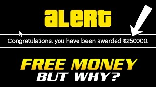 getlinkyoutube.com-ROCKSTAR GIVING FREE MONEY TO PLAYERS BUT NO ONE KNOWS WHY