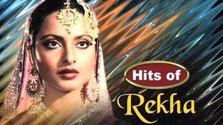 getlinkyoutube.com-Super Hit Songs of Bollywood Stars 14 - Rekha