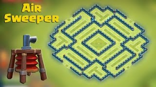 getlinkyoutube.com-Clash of clans - Town hall 10 (Th10) Best Farming base [The trap] with AIR SWEEPER