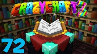 getlinkyoutube.com-Minecraft Crazy Craft 3.0: NEW ENCHANTMENT ROOM! #72 (Modded Roleplay)